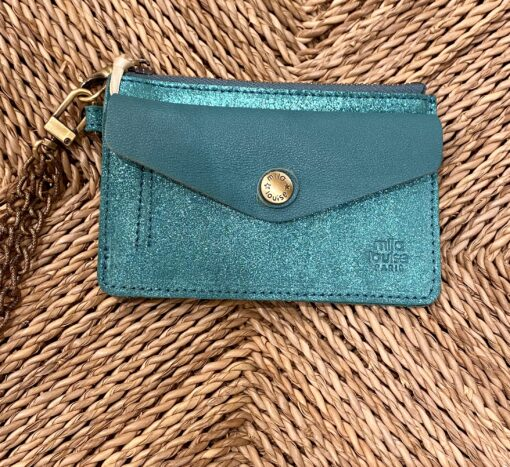 portefeuille turquoise mila louise